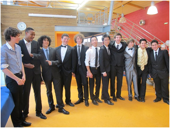 prom party boys