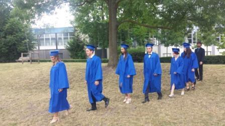 Notre-Dame International High School - Start of the Graduation Ceremony